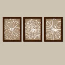 Brown Wall Decor by Wall Canvas Or Prints Brown Beige Bathroom By Trmdesign
