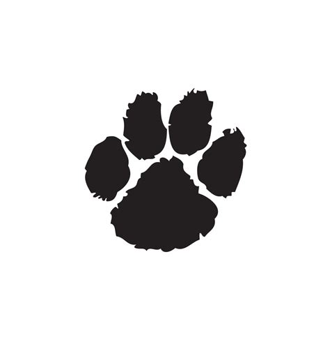 how to your to do paw bulldog paw clipart free www pixshark images galleries with a bite