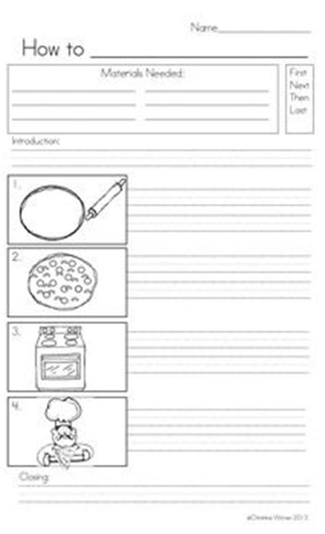 procedure writing templates how to writing grade 1 on procedural writing