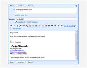 Gmail Email Templates Html by Gmail Html Email Templates