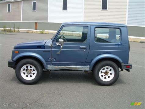 Suzuki Paint Colors 1988 Atlantic Blue Metallic Suzuki Samurai Hardtop 4x4