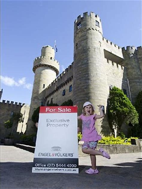 blibli weather norman style castle at bli bli is up for sale the