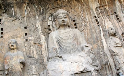 Statues Of Gods The Longmen Caves Tourist Information Facts Amp Picture