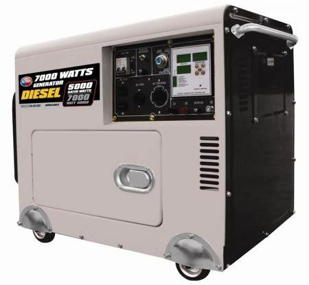 Generator Genset 6500 Watt Lpg Listrik Lu Silent Taikan Genset Watt all power america apgg3203 6500 watt diesel generator with digital panel battery world
