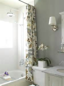 Grey Bathroom Curtains Yellow Shower Curtain Cottage Bathroom Benjamin Gray Owl Steward Of Design