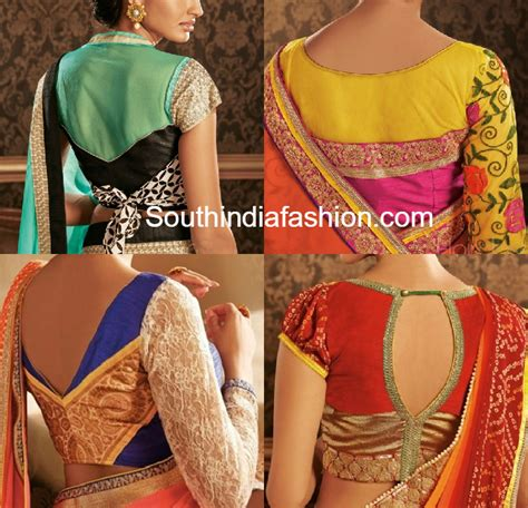 net blouse pattern 2015 stylish blouse patterns for georgette and chiffon sarees