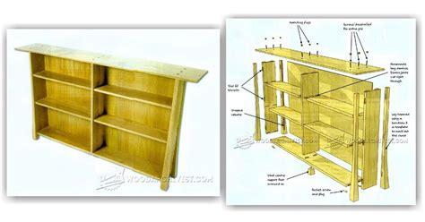 simple bookcase plans woodarchivist
