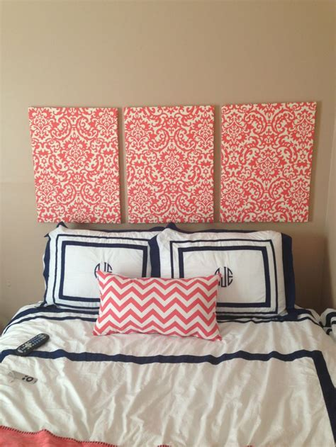 cloth covered headboards the 25 best fabric covered canvas ideas on pinterest