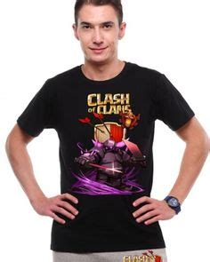 T Shirt Coc Pekka new printed design clash of clans pekka mens