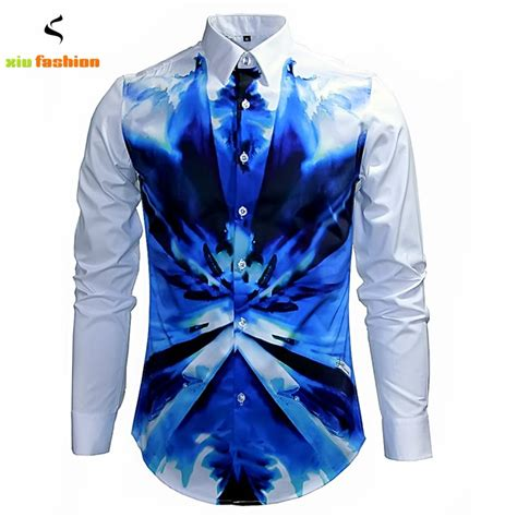 New Dres Passport Hodie luxury brand mens fancy shirts retro sleeve cotton button dress shirts casual slim fit