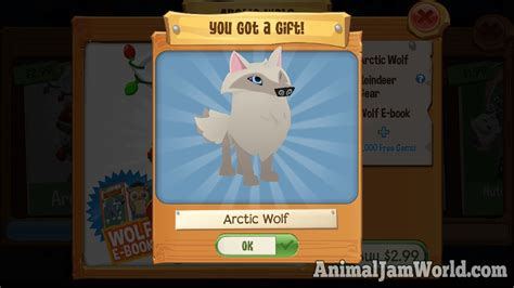 Animal Jam Arctic Wolf Gift Card Code - play wild arctic wolf cheats tips guide