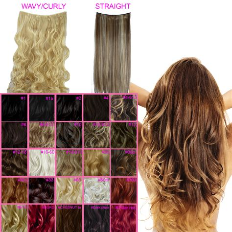 17 19 clip in hair extensions curly wavy brown 2 one clip in hair extensions curly wavy all