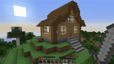 cool houses to build in minecraft let s play survival minecraft episode 7 how to build a