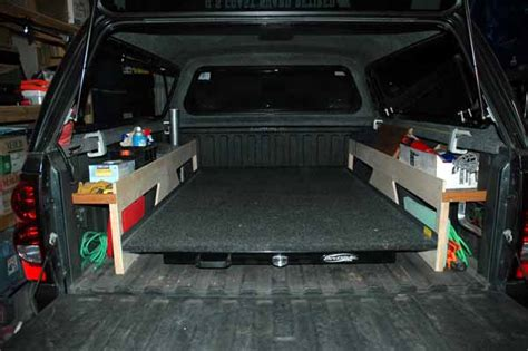 truck bed slide outs rv net open roads forum travel trailers roll out bed for