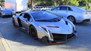 the 4 5 million lamborghini veneno driving in california