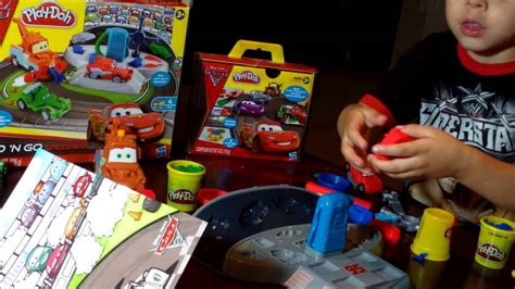 Play Doh Cars 2 Mold N Go Speedway play doh cars 2 mold n go speedway review