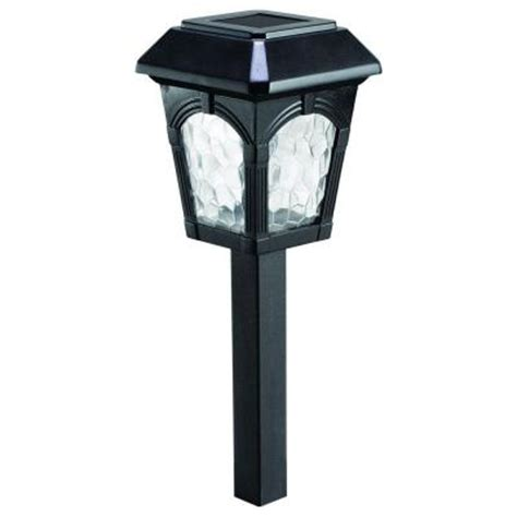 outdoor solar lights home depot westinghouse grafton solar light set 6 782006