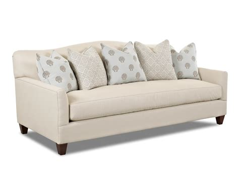 bench seat sofa showrooms contemporary stationary sofa with bench seat cushion and