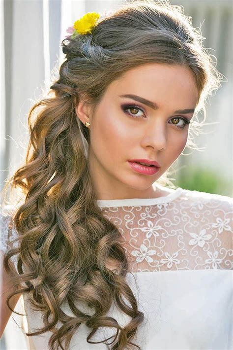 Curly Wedding Hairstyles by 22 Most Gorgeous And Stylish Wedding Hairstyles