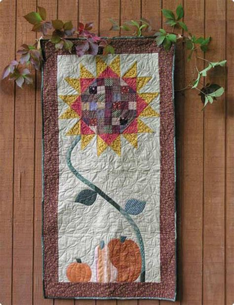 indian pattern wall hanging indian summer quilt pattern aeq 06 advanced beginner