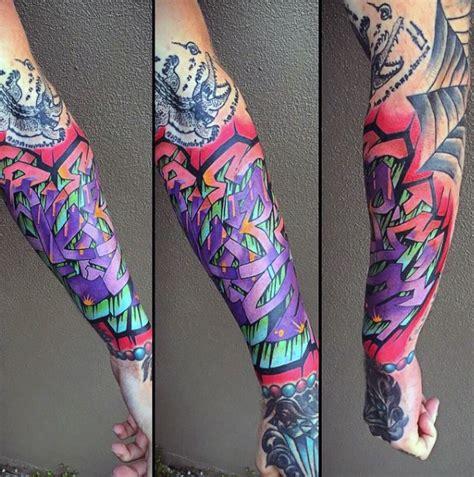 graffiti style tattoo designs 80 graffiti tattoos for inked designs