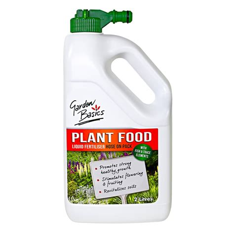 Gardenia Plant Food Garden Basics 2l Hose On Liquid Plant Food Bunnings