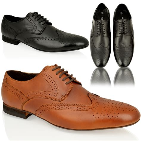 Black Master Original Casual Shoes Work Office Casual mens real leather formal work office lace up dress black