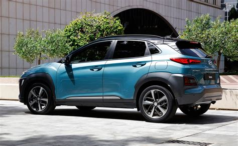 Volvo Suv Interior New Hyundai Kona Suv Specs Pics And Details On Electric