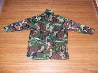 Baju Hujan Askar gaya ala tentera suite baju hujan celoreng