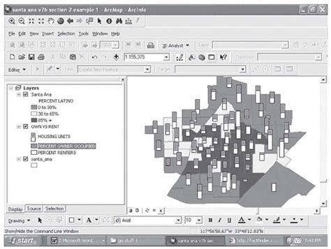 spatial pattern analysis gis multiple variable maps gis and spatial analysis part 2