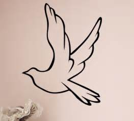 Inspirational Wall Sticker Quotes dove decal