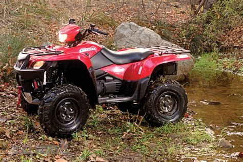 Suzuki King 750 Reviews Dirt Wheels Magazine Suzuki Kingquad 750axi