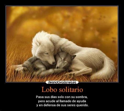 imagenes con frases de amor con lobos lobo solitario desmotivaciones