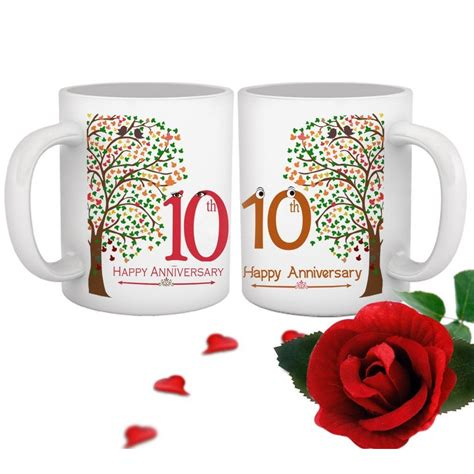 Wedding Anniversary by 10th Wedding Anniversary Gift For