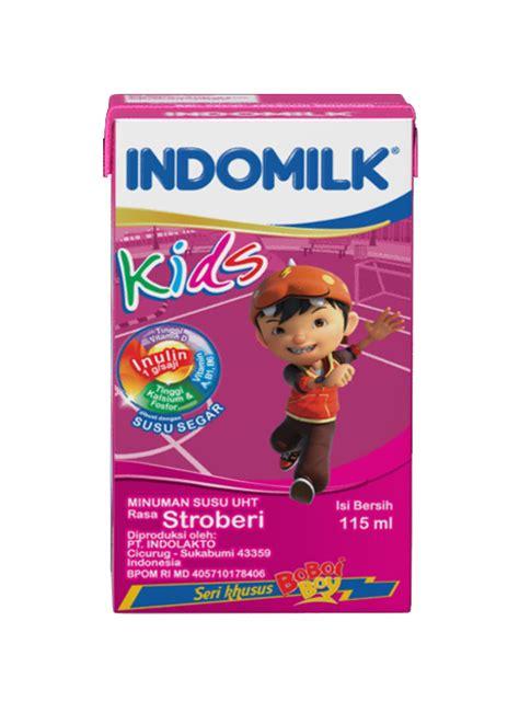 Indomilk Cair Stroberi by Indomilk Cair Uht Strawberry Tpk 115ml