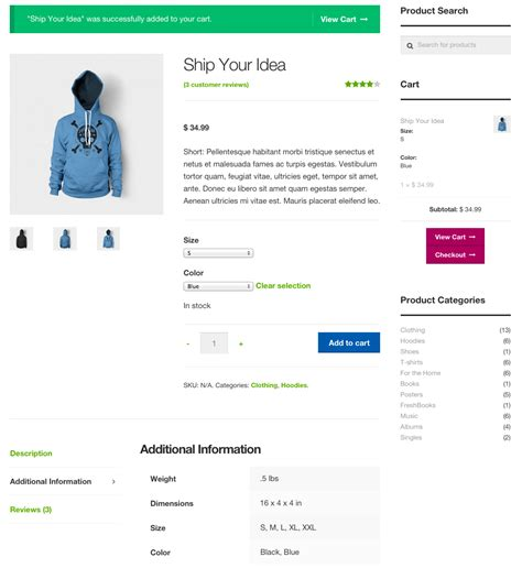 Product Page Template Woocommerce one woocommerce theme to rule them all storefront skyverge