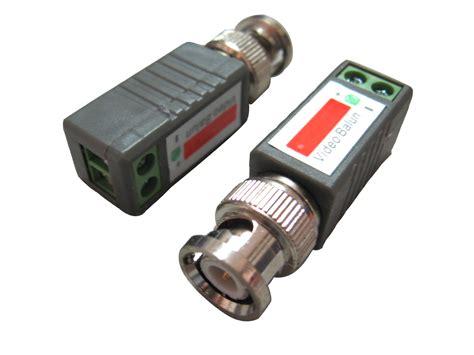 Vidio Balun For Cctv balun utp balun 1 channel passive transceiver from shenzhen flourish