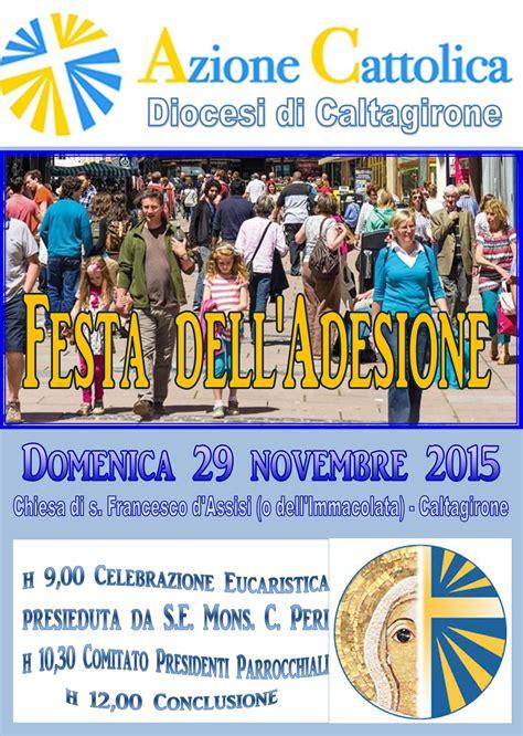lade senza filo festa dell adesione 29 novembre 2015 azione cattolica