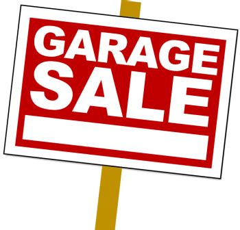Garage Sale by Planning A Garage Sale Soon Make It Part Of The Community