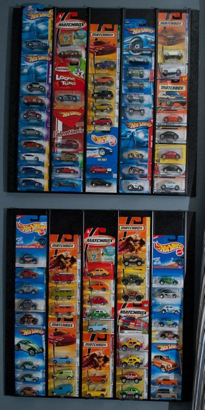 diy display case  hot wheels matchbox cars