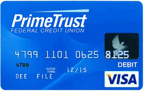 Debit Visa Gift Card - visa 174 debit cards primetrust federal credit union