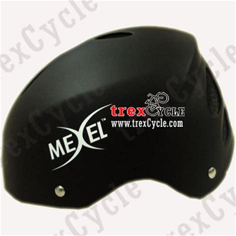Helm Sepeda Gunung helm sepeda batok murah mexel f71 black nukehead koleksi