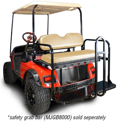 ez go golf cart rear seat installation ezgo txt rear flip seat kit brad s golf cars inc the