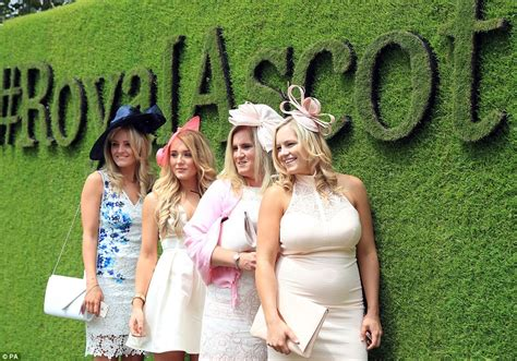 ascot themed events revellers descend on royal ascot in very flamboyant