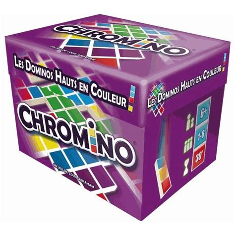 Asmodee Cartes Couleur Unie by Asmodee Chromino Nouvelle Version Achat Vente Dominos Cdiscount