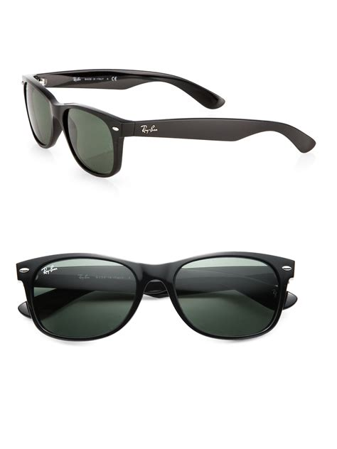 New Sungglases ban new wayfarer sunglasses in black for lyst