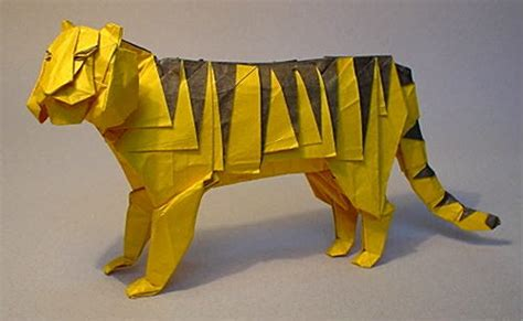 Origami Tiger - check out this origami tiger 2018