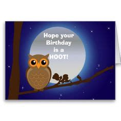 Happy Birthday Owl Meme - happy birthday with owl birthday humor cards birthday