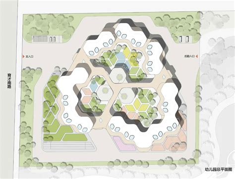 Different Floor Plans guan kindergarten wax architects
