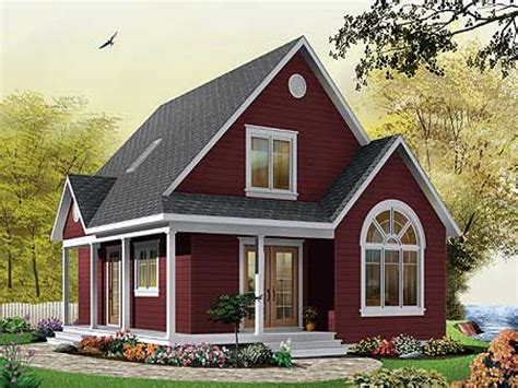 small cottage house plans with porches simple small house